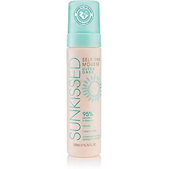 Sunkissed Love wint 95 procent Natural Self Tan Mousse 200ml - Ultra Dark