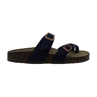 Madden Girl Womens Brycee Split Toe Casual Slide Sandals
