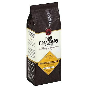 Don Francisco's Hawaiian Hazelnut Flavor Ground Coffee