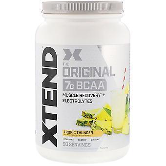 Xtend, Xtend, The Original 7G BCAA, Tropic Thunder, 2.78 lb (1.26 kg)