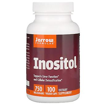 Jarrow Formulas, Inositol, 750 mg, 100 Veggie Caps