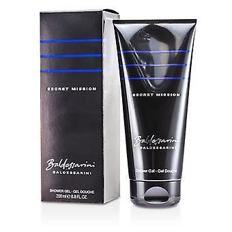 Baldessarini Secret Mission Shower Gel 200ml/6,8 oz