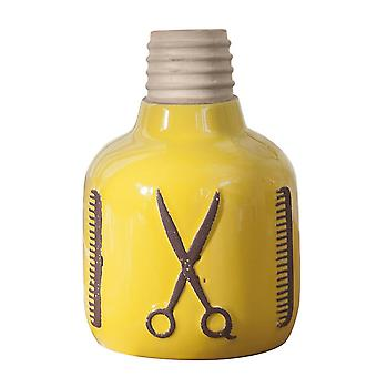 Classial Ceramic Mini Modern Deecorative Flower Vase Yellow