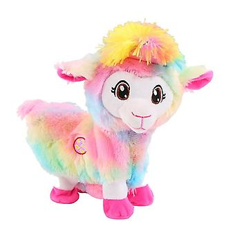 Plush Electric Toys Baby Alpacas Doll Musical Funny, Pets Alive Boppi The Booty
