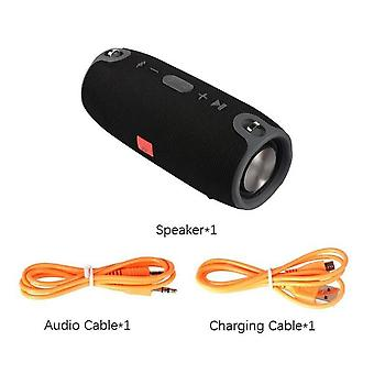 Waterproof Portable High Power Bluetooth Speaker For Computer Pc With Fm Radio