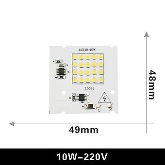 Led Lamp 10w 20w 30w 50w 100w Smart Ic Floodlight Cob Chip Smd 2835 5730 Outdoor Long Service Time Diy Lighting In 220v