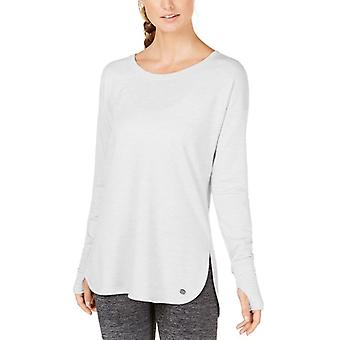 Ideology   Essential Long-Sleeve Lace-Up Back T-Shirt