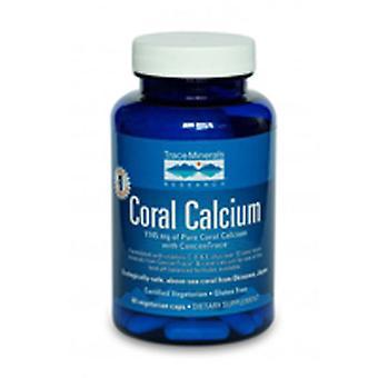 Trace Minerals Coral Calcium avec ConcenTrace, 60 Caps