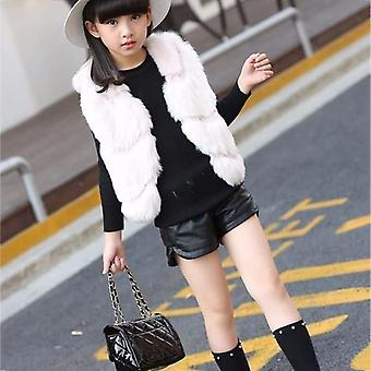 Children's Pu Leather Shorts, Baby Kleding