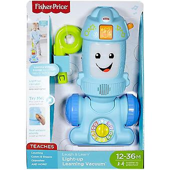 Fisher price laugh & learn light up vacuum, push toy vacuum with music, lights,