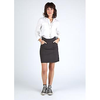 The #8005 utility skirt - faded black