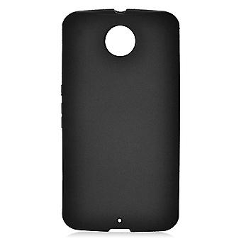 Skin Cover TPU Case for Google Nexus 6 - Black