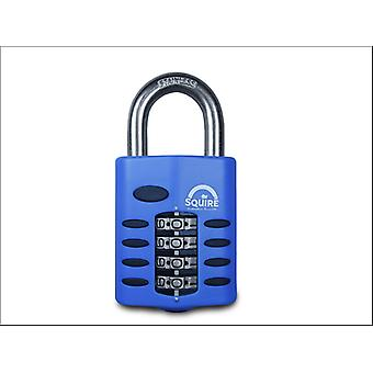 Squire Recodable Combination Padlock Stainless Steel 50mm CP50S CP50S