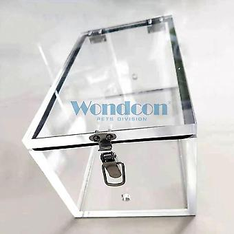 Wondcon Veterinary Animal Anesthesia Induction, Chamber Organic Glass Cat Dog