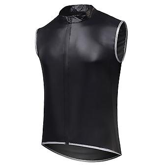 YANGFAN Men's Stand Collar Cycling Jersey Vest