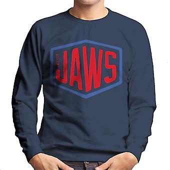 Jaws Since 1975 Red Text Men's Sweatshirt