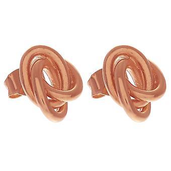 Olivia Burton Obj16kde02 Forget Me Knot Stud Earrings Rose Gold