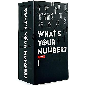 What's Your Number NSFW Card Game