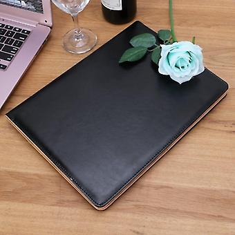 A4 Genuine Leather File Folder