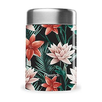 Insulated lunch box - Black Tropical Collection 340 ml