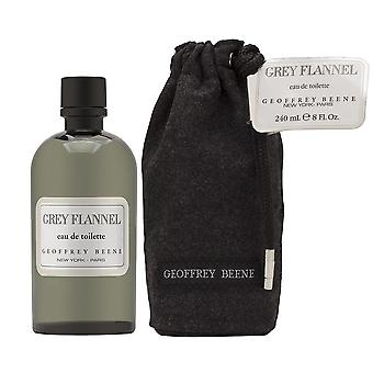 Grey flannel by geoffrey beene for men 8.0 oz eau de toilette splash with pouch