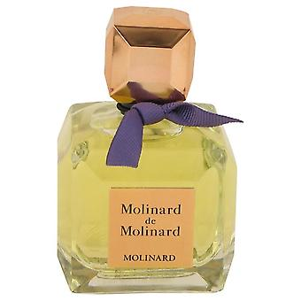 Molinard De Molinard Eau De Toilette Spray (Tester) By Molinard 2.5 oz Eau De Toilette Spray
