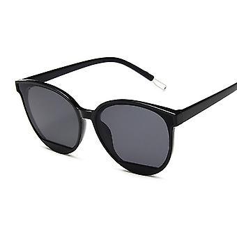 Óculos de sol de moda recém-chegados mulheres vintage metal espelho óculos de sol