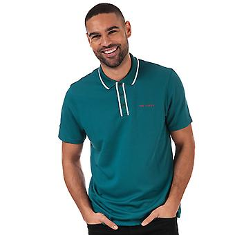 Heren's Ted Baker Bunka Polo Shirt in Groen