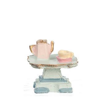 Dolls House Tea Table 1:48 Scale 1/4 Inch Mini Living Room Furniture