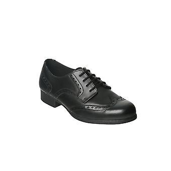 TERM FOOTWEAR Laced Brogue School Shoe Megan