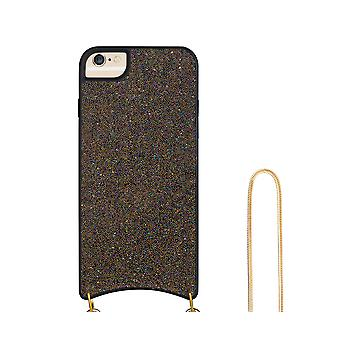 H-basics phone chain for Apple iPhone 6 Plus / 6S Plus necklace case cover