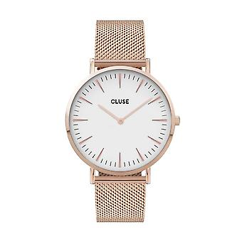 Cluse Unisex La Behème Gold Circle Quartz Fashion Watch CW0101201001