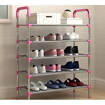 Storage Shoe Rack & Organizer Holder 3/4/5 Layers, Shoes Shelf