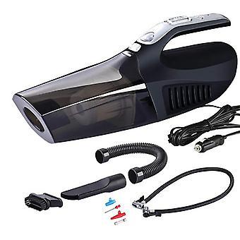 Kruimeldief accu stofzuiger - met compressor, mondstukken en opblaasfunctie