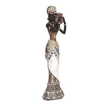 Straits African Lady 27cm Resin Figurine