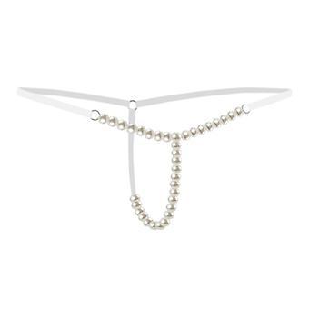 Pearls Massage, Panties Beading, G-string Babydoll, Underwear Lingerie