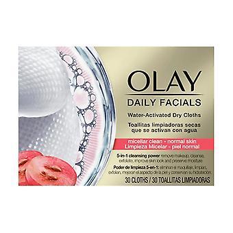 CLEANSE daily facials micellar toallitas secas PN 30 uds 30 units
