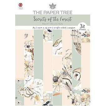 The Paper Tree - Secrets of the Forest Collection - A4 Insert Collection