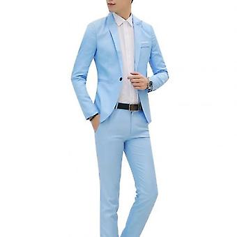 Men Wedding Male Blazers Costume Business Formal Suits