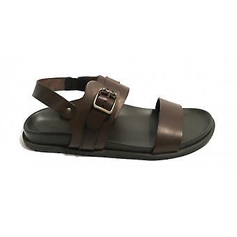 Men's Shoes Elite Sandal Finger In Leather Cow Col. Moro Head Us18el26