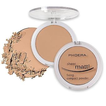 8 Color Matte Mineral Powder Face Pressed Foundations Oil-control Brighten