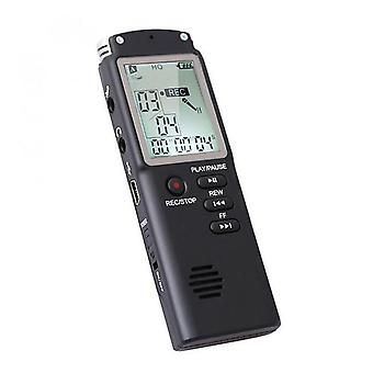 1536Kbps digital voice recorder audio sound recorder mp3 player lossless noise reduction long distance stereo dictaphone