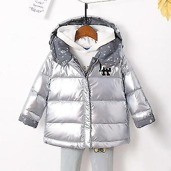 الاطفال سترة معطف دافئ مقنعين 90٪ بطة أسفل المعاطف السترات على الوجهين