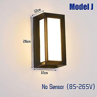 Sensore di movimento radar per lampade da parete impermeabili all'aperto a led