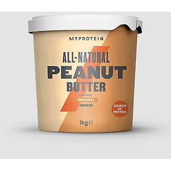 Myprotein Mantequilla de Almendra Natural Suave 1 kg