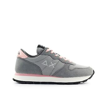 Sun68 Ally Solid Light Grey Sneaker