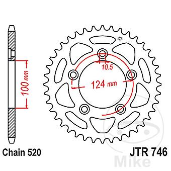 Triple-S Stål Bakre Kedjekrans 43 Tänder JTR746-43