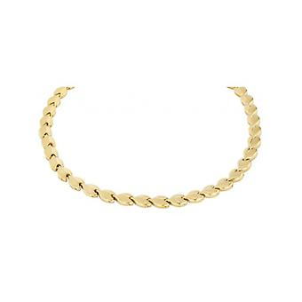 Traveller Necklace Stainless Steel Gold Plated - 180516 - 673