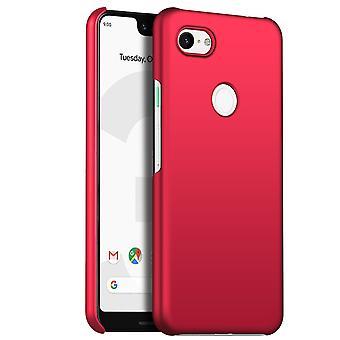 Erittäin ohut kotelo google pixel 3a anti fall iskunkestävä kansi punainen kc335