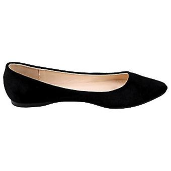 Bella Marie Angie-28 Women's Classic Pointy Toe Ballet Flat Shoes